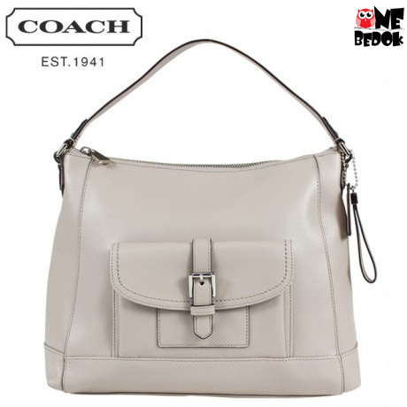 Coach Charlie Leather Hobo Shoulder Bag - F29881 for only  328.00 ... d10a1a97c00ed