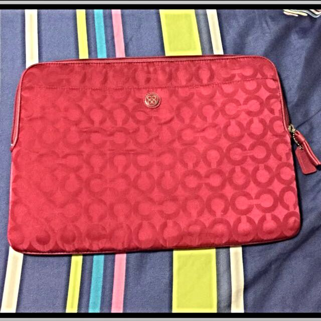 "coach laptop bag (13"")"