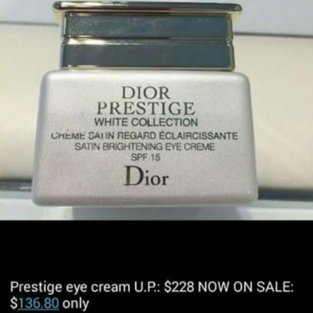 Dior Eye Cream