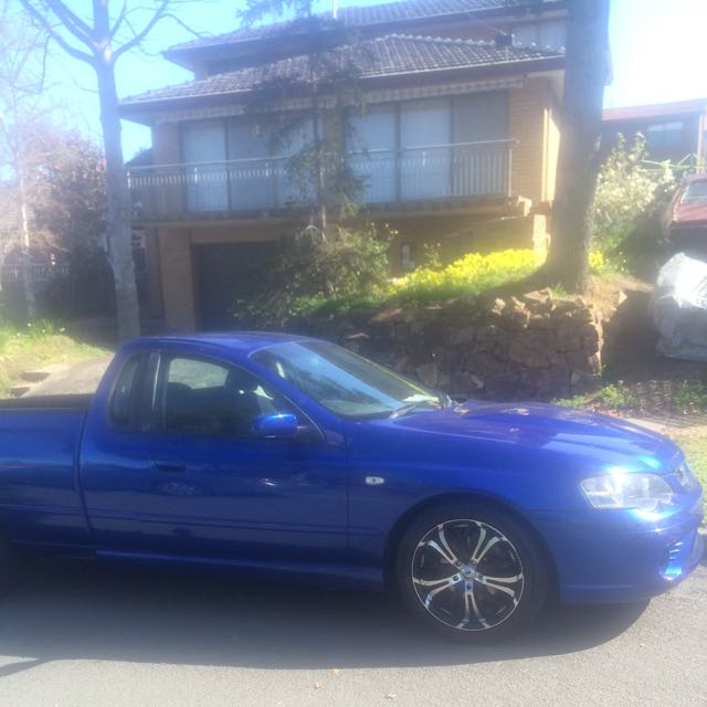 Ford Falcon 2002 XR6 BA