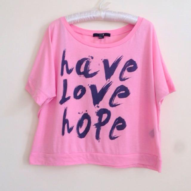 Forever21 Crop Shirt