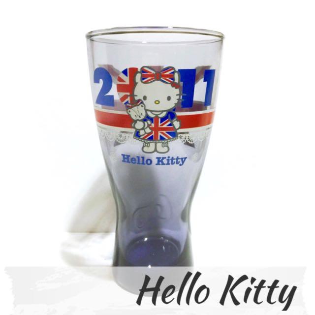 Hello Kitty 40週年 經典曲線玻璃杯