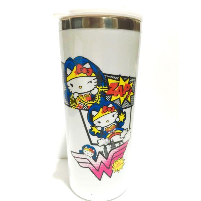 Hello Kitty 英雄系列 不鏽鋼隨行杯