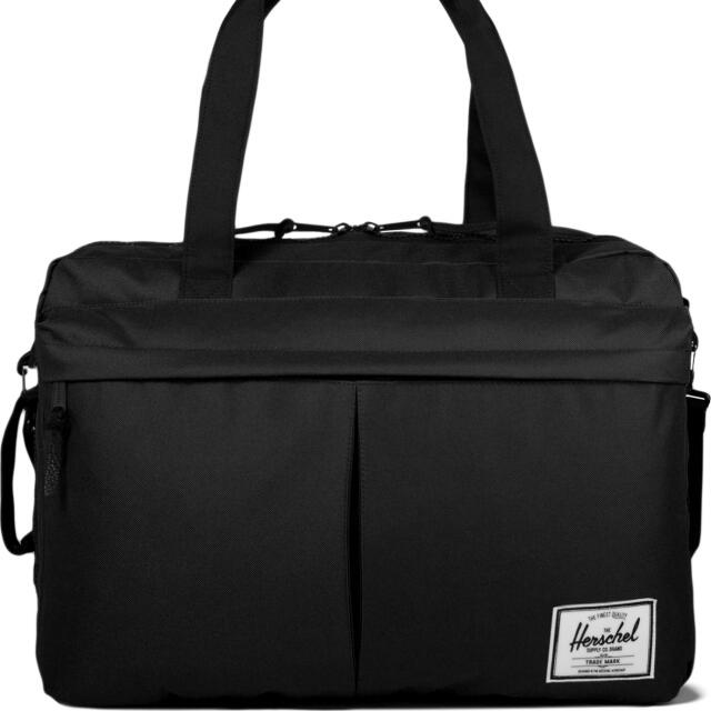 194f4f2788 HERSCHEL SUPPLY CO. Black Bowen Travel Duffle Bag