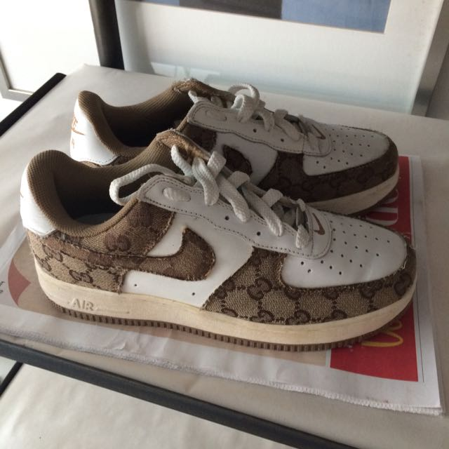 superior quality run shoes size 7 Nike Air Force One - Gucci (Price Reduced), Men's Fashion on ...