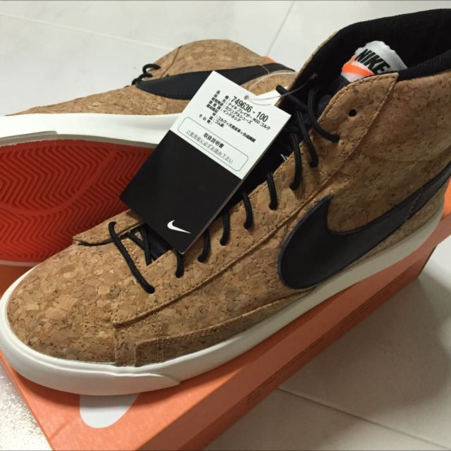 sale retailer 51b82 f3804 ... italy nike blazer mid cork reserved sports on carousell 8fef5 395b2