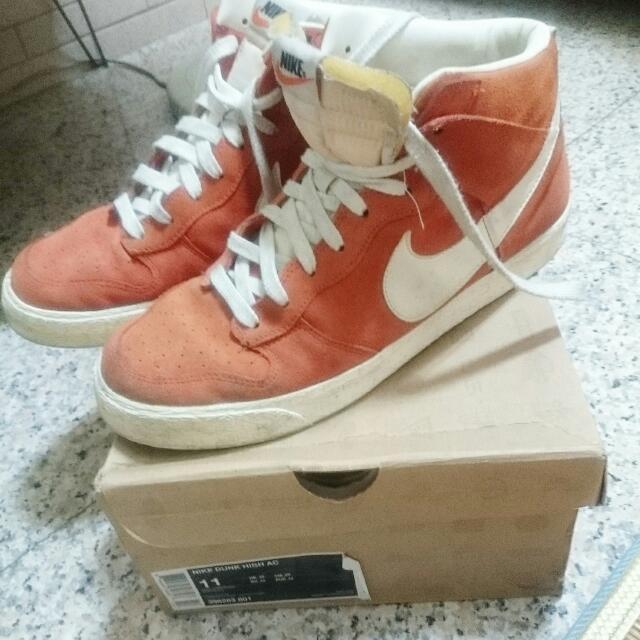 Nike Dunk High (橘)