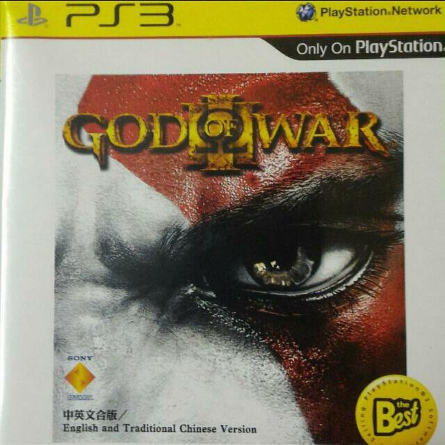 PS3遊戲 戰神3