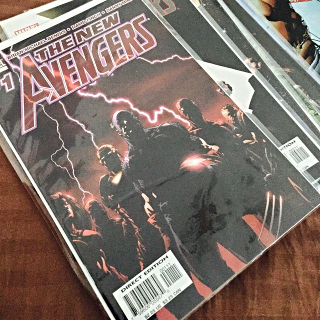 The New Avengers Comic Lot 1-23