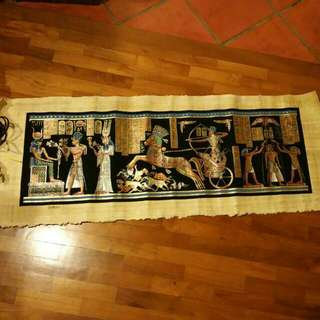 Egyptian Handmade Papyrus Painting