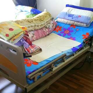 Electric Controlled Hospital Bed