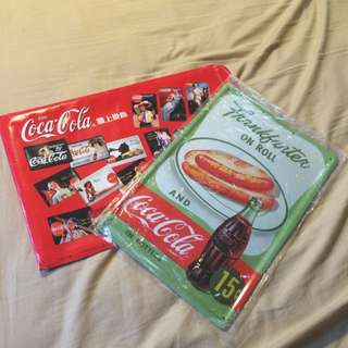 Coca-cola復古牆上掛飾