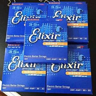 PENDING Brand New Elixir Strings 10-52