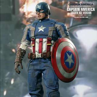 Hot Toy Captain America Golden Age
