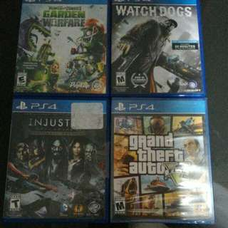 PS4 games BN