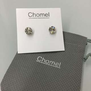 💯Authentic Chomel Clear Crystal Ear Ring