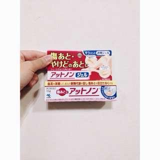 日本製除疤傷痕軟膏