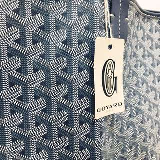 GOYARD SAINT LOUIS BAG (GREY) GM