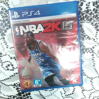 二手*PS4-NBA 2K15(亞洲中文版)