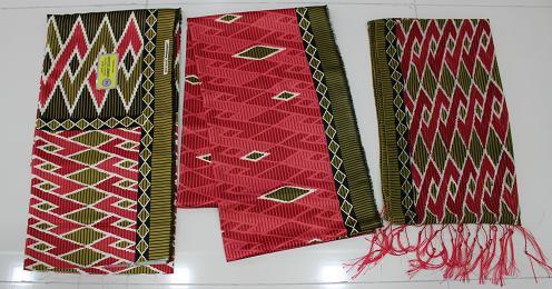 8 3in1 Se 5 Soft Silk Batik Motif Tenun Busana Muslim Women S