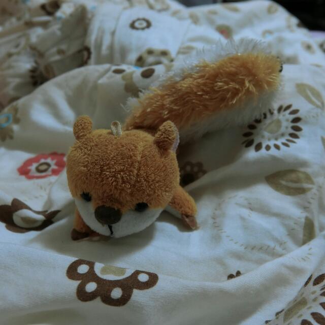 松鼠小玩偶