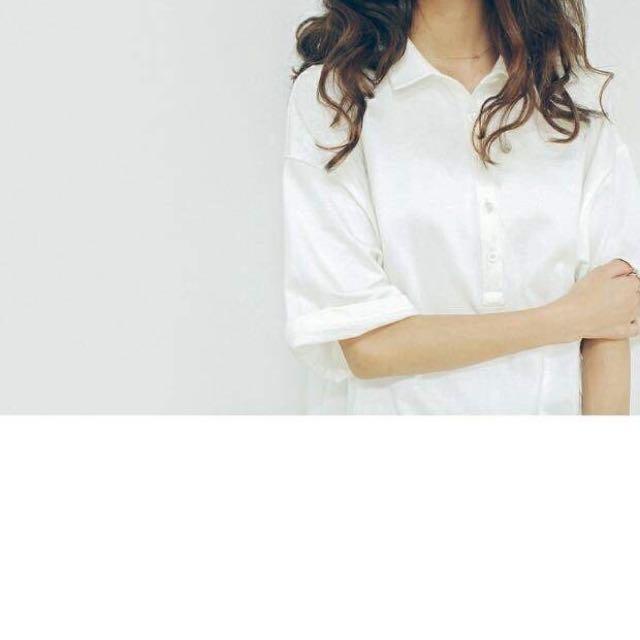 書香女孩 長版襯衫