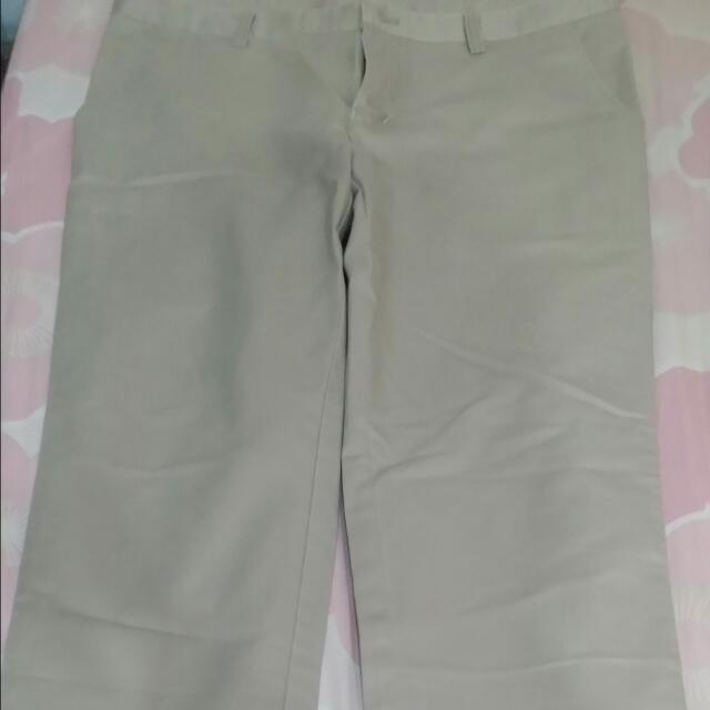 韓版小窄款褲子 僅試穿過沒下水過 超好看34腰