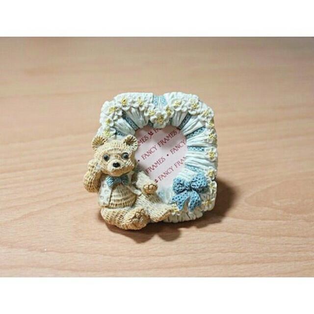 小熊 藝術 磁鐵 相框