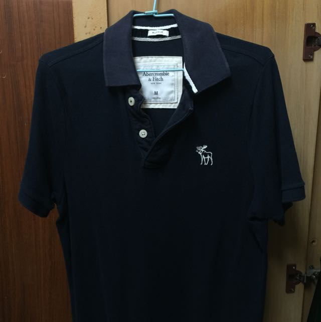 !!Abercrombie And Fitch Polo 衫 男版Size M