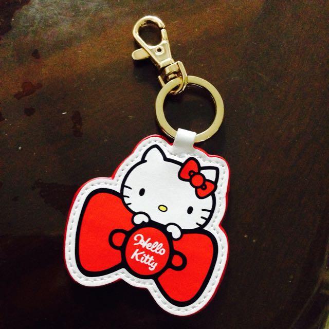 Hello kitty皮革悠遊卡
