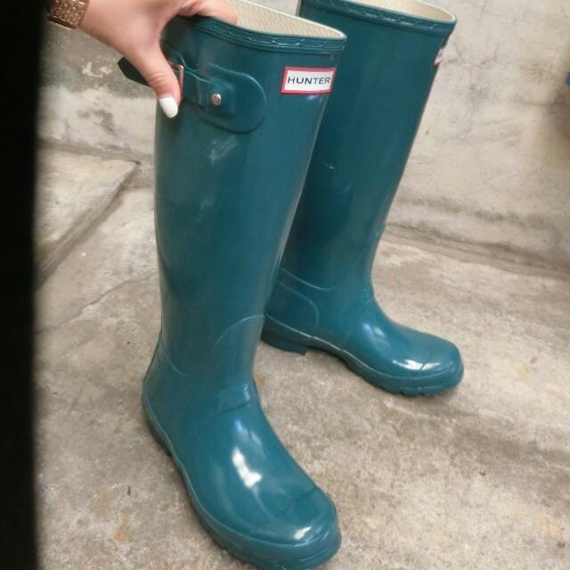 [售出]Hunter高筒雨靴