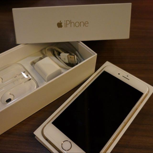 I phone 6 64G 金色 (保固中配件完整)不議價