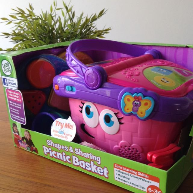 Leapfrog Shapes Sharing Picnic Basket Toys Games On Carousell