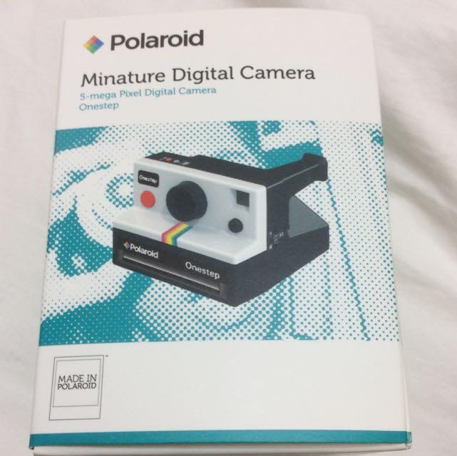 全新 拍立得造型數位相機 Polaroid carbon one mini