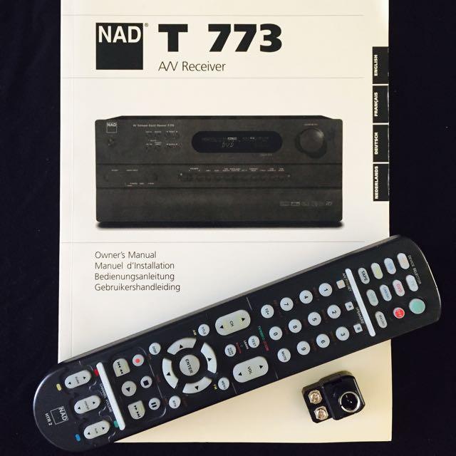 nad t 773 av receiver amplifier electronics on carousell rh sg carousell com