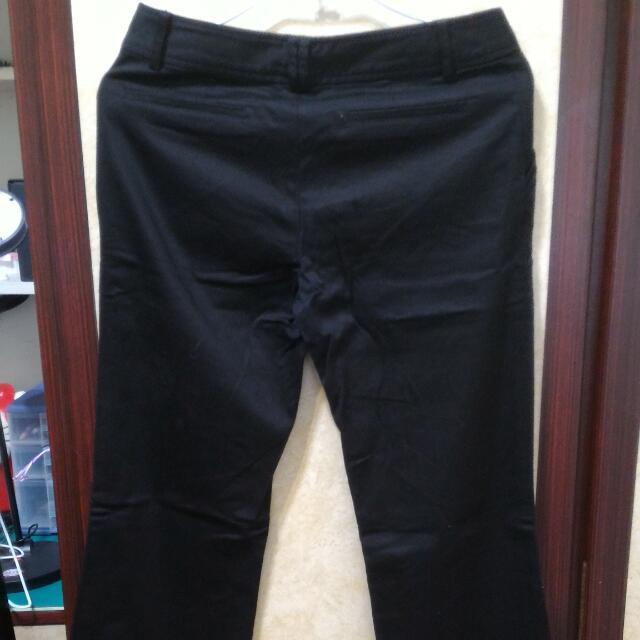 Net黑色長褲