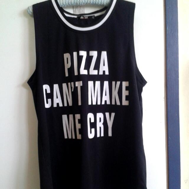Pizza can't make me cry top