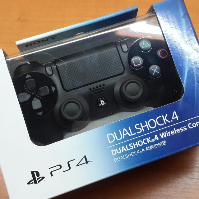 PS4 DUALSHOCK 無線搖桿器 極致黑 公司貨含運