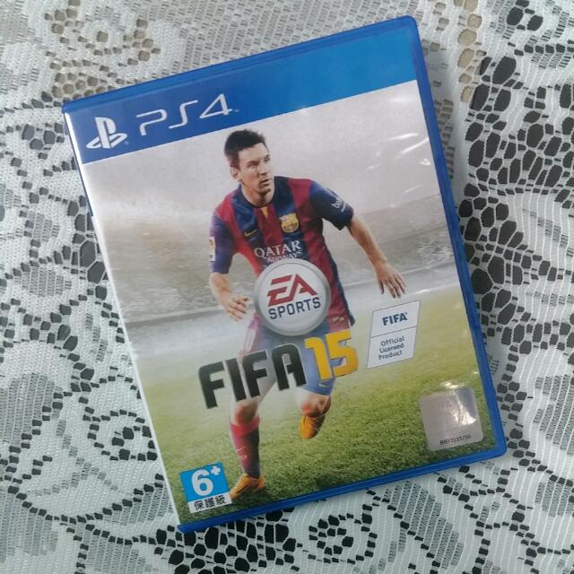 二手*PS4-EA SPORTS FIFA 15 國際足盟大賽 15(中/英文版)