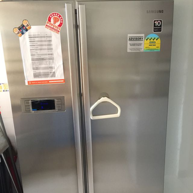 Repriced: Samsung 2Door Side By side Fridge