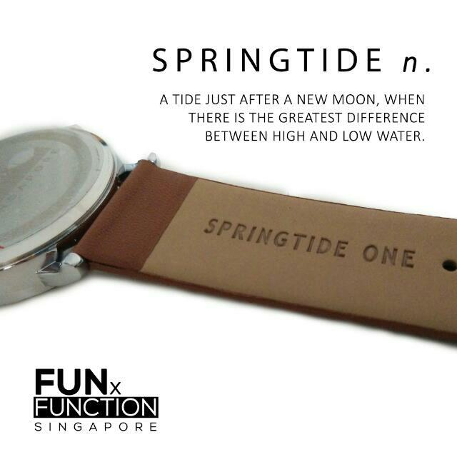 SPRINGTIDE ONE - A Locally Designed Watch