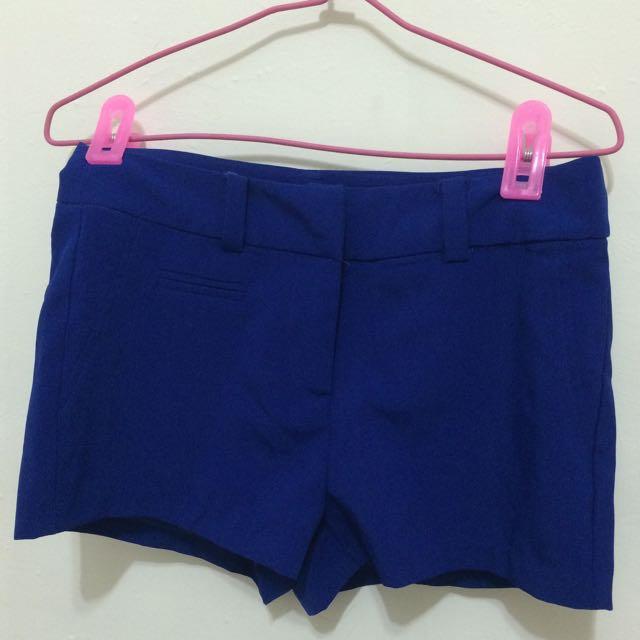[Starmimi] 寶藍色雪紡短褲