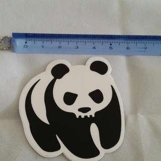 Free post AU wide. We love Panda. Good quality sticker. Perfect for Skateboard, Scrapbook, or other art project