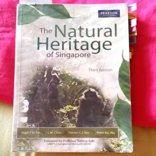 <RESERVED> The Natural Heritage Of Singapore (3rd Edition)