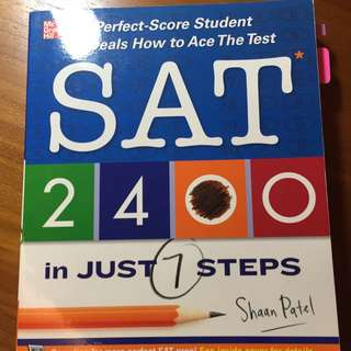 Mc Graw Hill SAT 2400 In Just 7 Steps