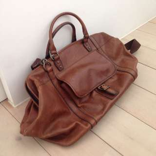 Fossil 牛皮 Traveling Bag