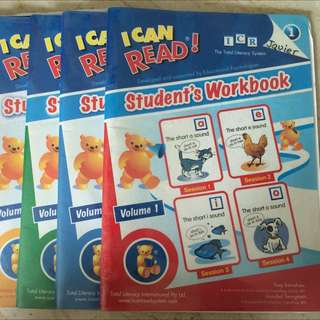 Used I Can Read Student's Workbook