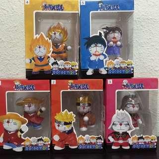 DORA COS Figures (Luffy, Naruto, Char, Goku & Conan)