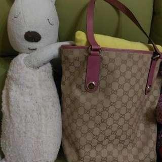 Gucci帆布包(可議價)附防塵袋