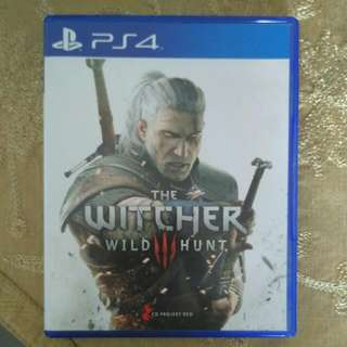 [Reserved]PS4 Witcher 3